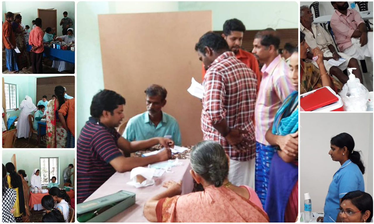 Medical Camp for flood  affected people at Cherukadapuram